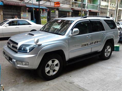 Toyota Hilux Surf Yangon Car Rental Service Nyan Myint Thu