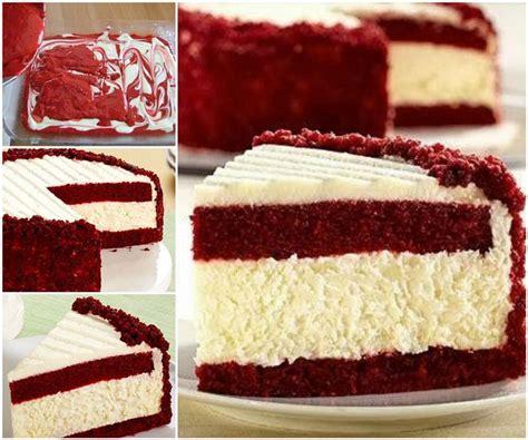 creative ideas diy gorgeous red velvet cheesecake