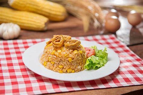 resep nasi goreng jagung masak  hari