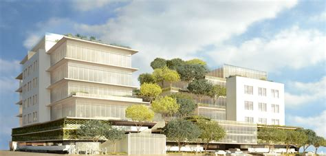 gehry partners design  sustainable office building