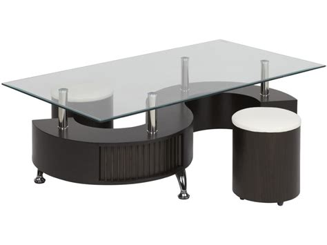 Table Basse Blanche Carrée 1717 by Table Basse But Ezooq