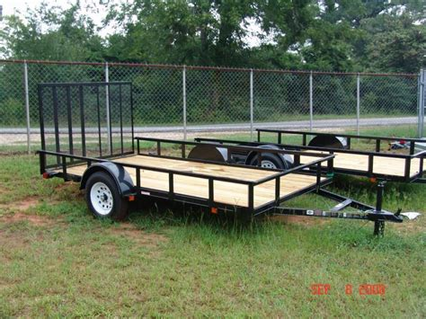 used landscape trailers image gallery landscape utility trailers