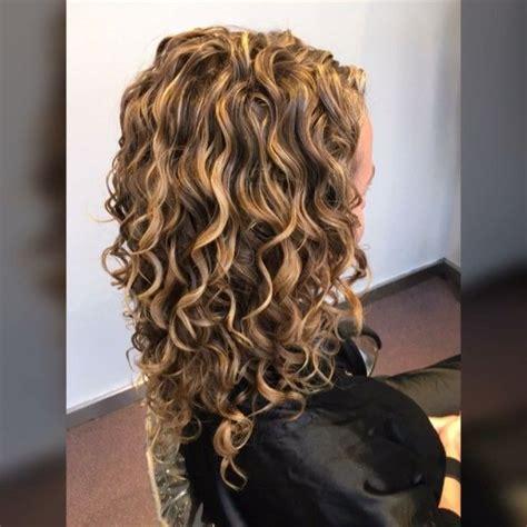 deva curl highlights pintura highlights on top she has some gray strands