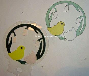 pop up snow globe card template and egg sliceform snow globe
