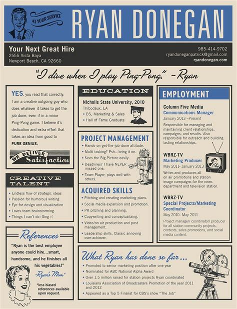 Cool Resume Designs by Cool Resume Design Resumes Resume Ideas