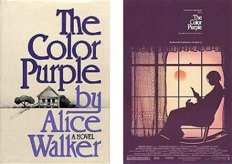 color purple book vs the book vs the color purple vs the