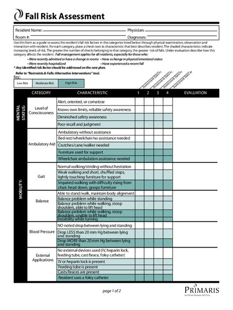 free risk assessment template blank it resume cover