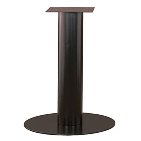 Gibraltar Table Bases by Table Bases Disc Table Bases Without Levelers By Durable