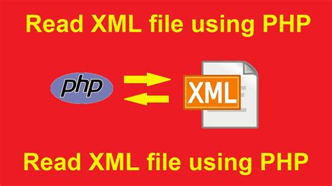 php tutorial read xml file read xml file using php youtube