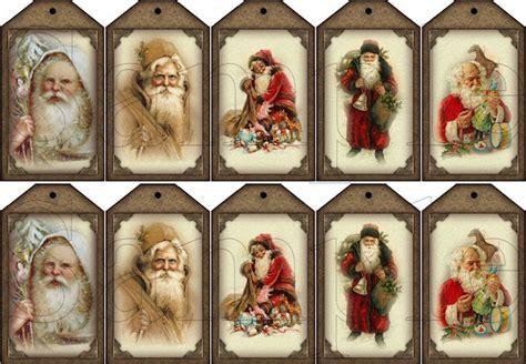 printable vintage gift tags christmas 8 best images of vintage printable christmas name tags