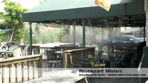 patio water misters outdoor misting systems misting system mist cooling