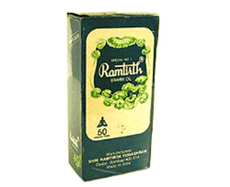 ramtirth brahmi hair oil ramtirth brahmi oil 200 ml body hair oils health