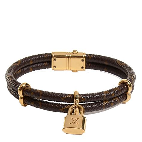 louis vuitton monogram keep it bracelet 17 101076