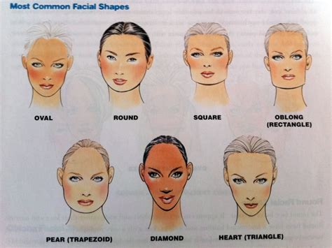 matching hairstyles to face shapes choosing the right style for your face shape salon fifty