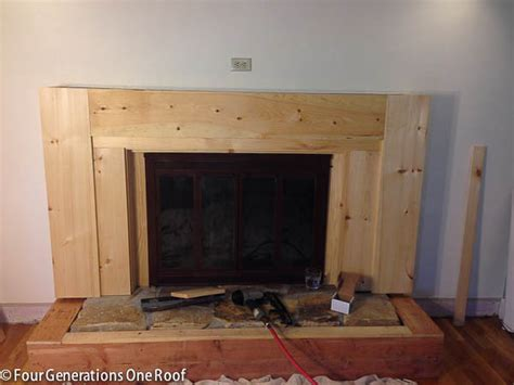 diy fireplace cover up our fireplace makeover stage 3 covering the stone with