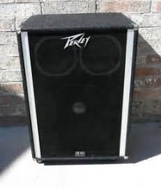 peavey 1820 bass guitar speaker cabinet 1 18 034 black