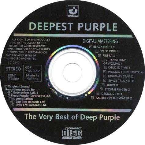 the best of purple car 225 tula cd de purple deepest purple the best