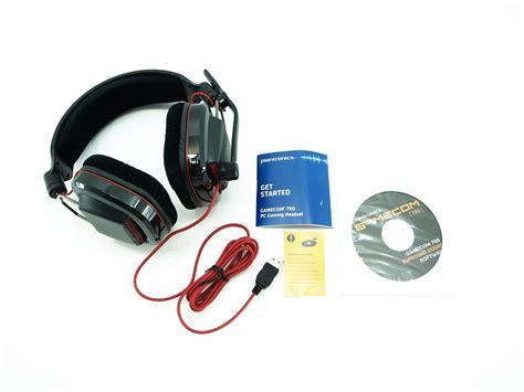 Headset Paspres Plantronics Gamecom 780 7 1 Surround Sound Headset Review