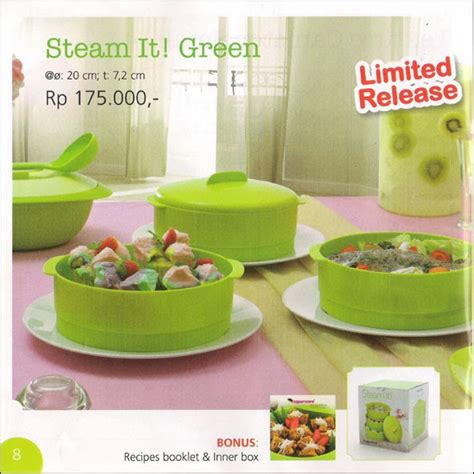 Tupperware Steam It Green steam it green tupperware promo januari 2014