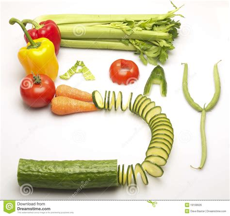 5 vegetables a day mixed vegetables spelling out the words 5 a day royalty