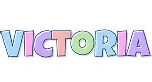 Name Style Design Victoria Logo Name Logo Generator Candy Pastel Lager