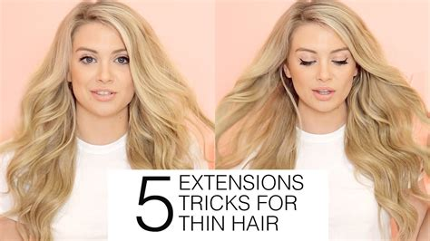 hair additions for thinning hair on top of head 5 must know hair extensions tricks for fine and thin hair