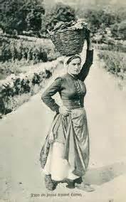 femme au foyer 1900 des vacances en corse