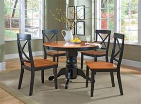 Kitchen Dining Room Table Sets Home Styles 5 Pedestal Dining Set By Oj Commerce 746 99 864 99