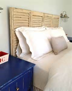headboard made from shutters top 10 cheap and chic diy headboard ideas top inspired