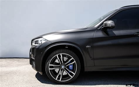 bmw black matte black bmw x5 m with some aftermarket goodies
