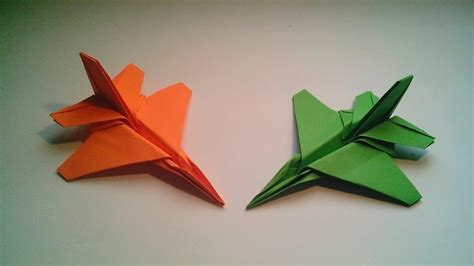 origami f16 how to make an origami f16 fighter jet paper airplane