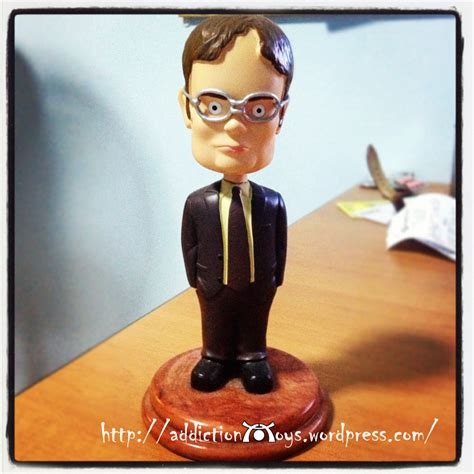 bobblehead dwight dwight schrute bobble because he is headless addiction