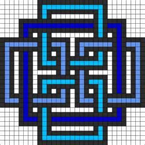 geometric square perler bead pattern hama perler pinterest perler bead patterns square