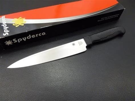 spyderco sharpmaker kitchen knives spyderco kitchen knife quick look youtube