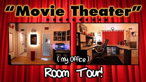 hoppinghammy room tour my quot theater quot office room tour