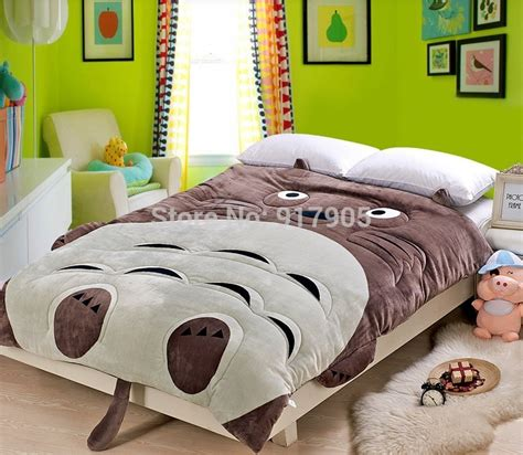 totoro comforter totoro bed promotion online shopping for promotional