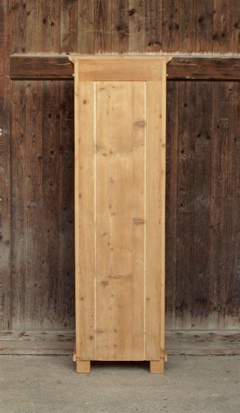 besenschrank holz schmaler bauernschrank dielenschrank massivholz fichte