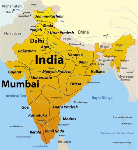 Mumbai India Map | Adriftskateshop