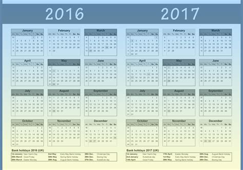printable calendar 2016 to 2017 2016 2017 calendar 2018 2017 calendar printable for free