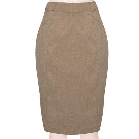 tailored wool blend pencil skirt custom fit handmade