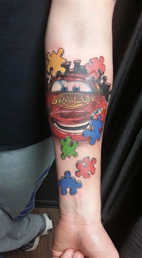 mcqueen tattoo 77 best tattoos images on pinterest tattoo ideas autism