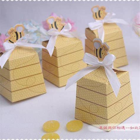 Wholesale Baby Shower Favor Boxes by Wholesale 200pcs Lot Honeybee Design Children