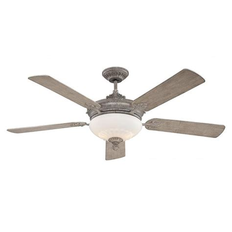 aged wood ceiling fan illumine tartan 52 in aged wood indoor ceiling fan cli