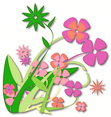 arte fiori clip flowers roses clipart panda free clipart images