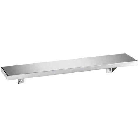 Bobrick Stainless Steel Shelf by Bobrick B 295 X 18 Stainless Steel Shelf With Satin Finish