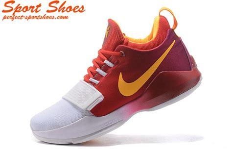 paul basketball shoes nike zoom pg 1 paul george mens basketball shoes white