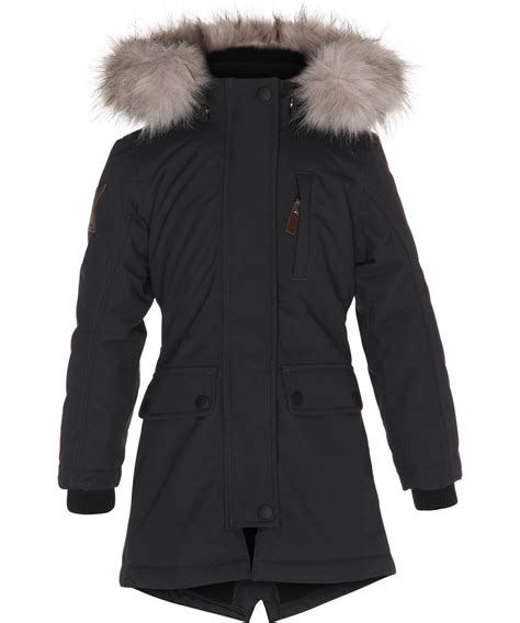 Peace Jacket by Peace Almost Black Feminine And Functional Black Parka