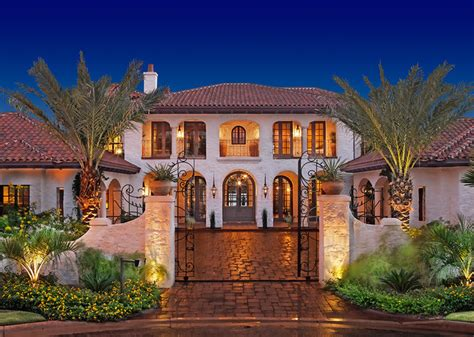 Spanish Style House Plans With Interior Courtyard lake home exterior mediterranean exterior austin