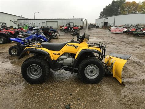 honda foreman for sale honda foreman 4x4 snow plow motorcycles for sale