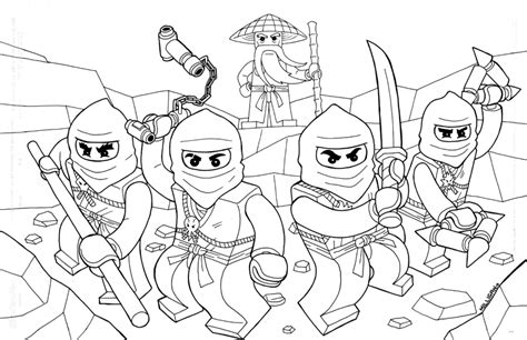 Free Coloring Pages Of Ninjago Colouring Pages Ninjago